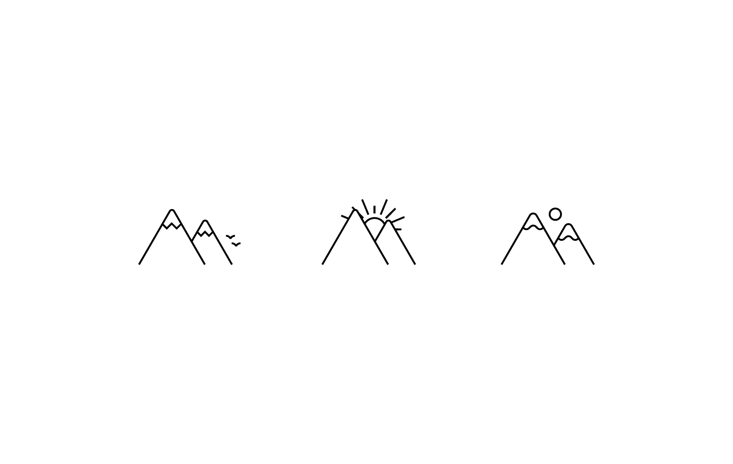Harbor & Hill logo elements