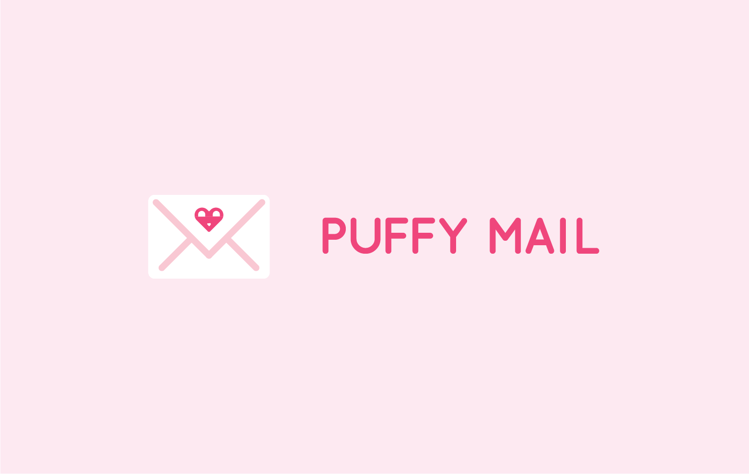 puffy mail logotype