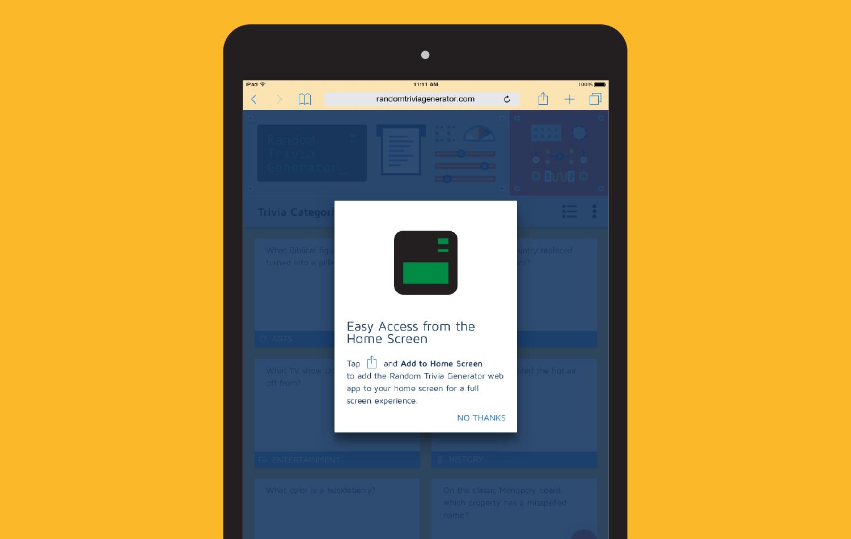 App Equal Random Studio Parts Trivia Generator