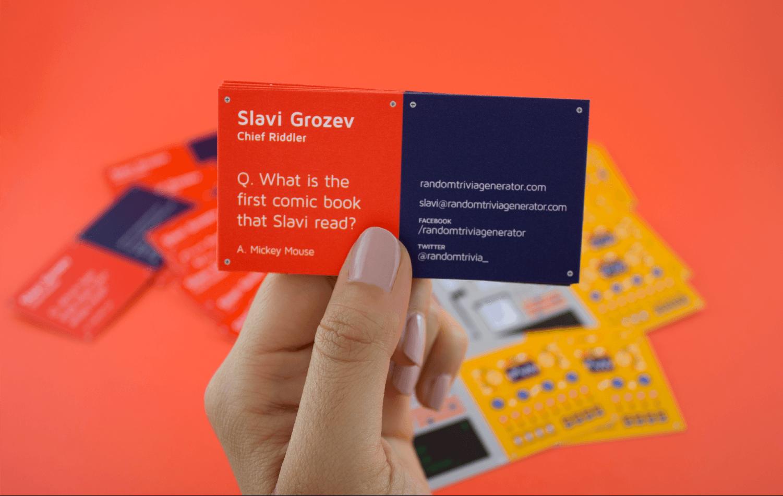 Equal parts studio random trivia generator identity business card trivia magicingreecefo Choice Image