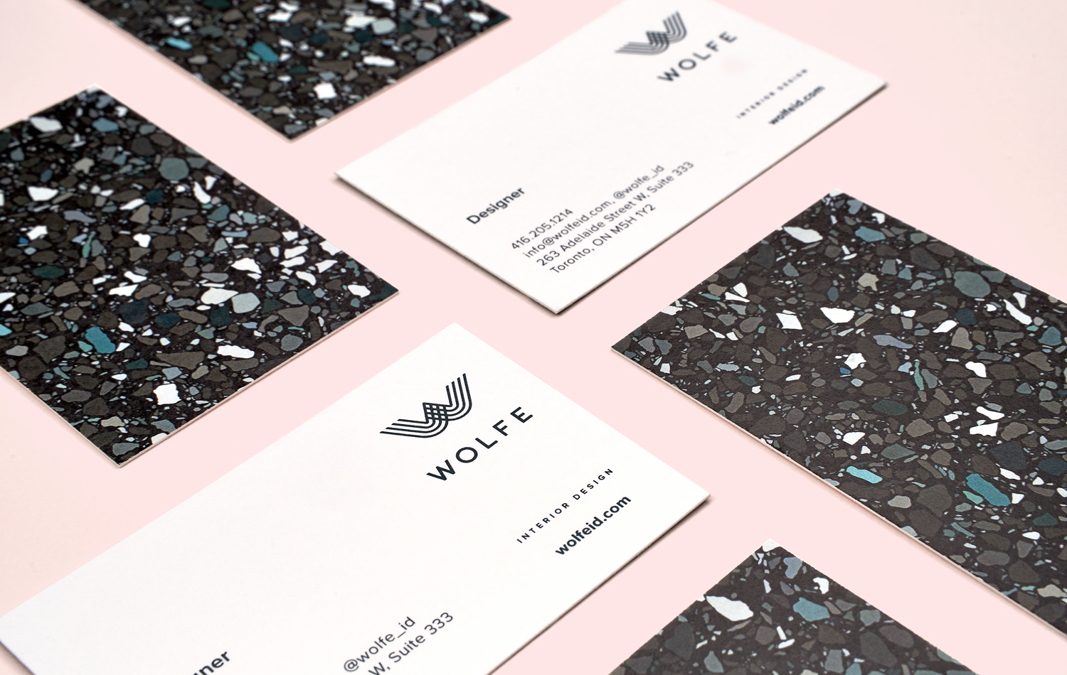 Wolfe Business Cards